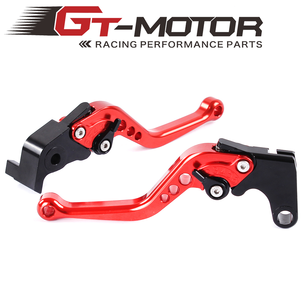 GT Motor - R-104/Y-688 Motorcycle Brake Clutch Levers For Yamaha R6 2005-2016 YZF-R1 R6S CANADA VERSION R6S EUROPE VERSION adjustable folding extendable brake clutch levers for yamaha r6s usa version r6s canada version fz1 fazer 8 colors