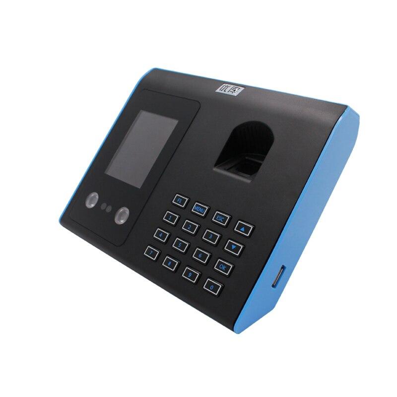 FACE&Fingerprint Attendance Machine 1000 Face Record Capability 3000 Fingerprint Record Free shipping