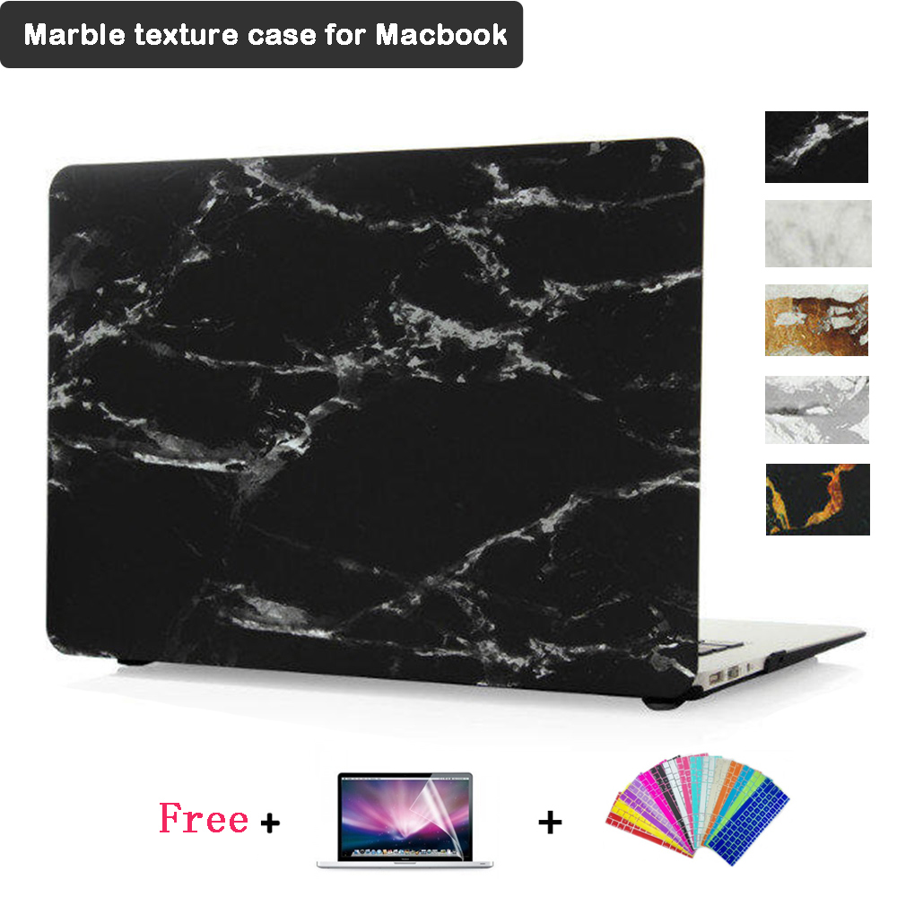 Laptop Case for MacBook Air 13.3inch A1369 13.3inch Pro with Retina Display A1278 A1502 A1425 Marble Texture Case for Macbook