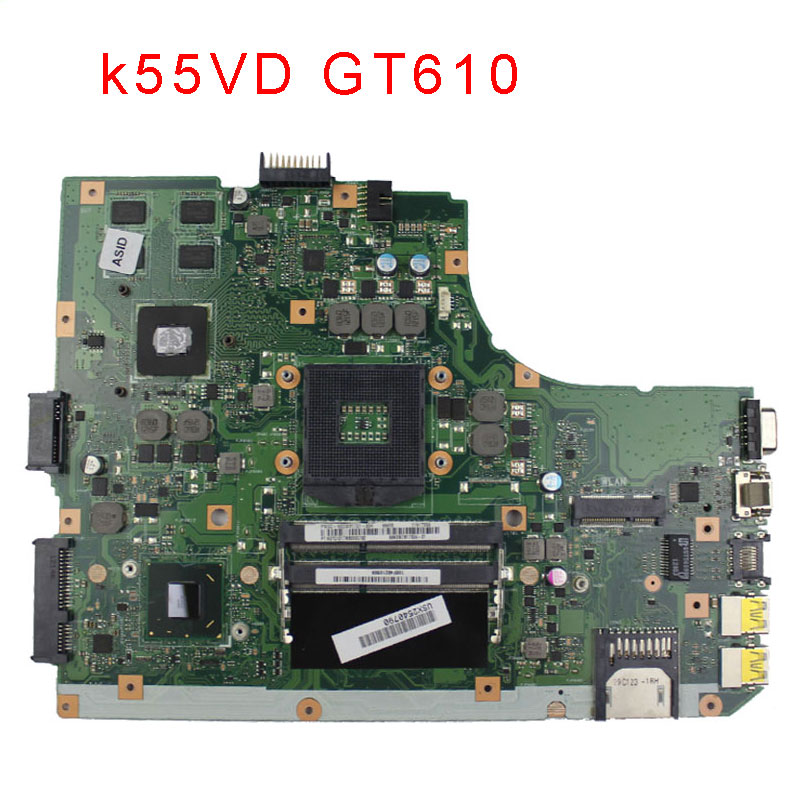 For ASUS A55V A55VD K55V K55VD F55V F55VD R500V U57A Intel Laptop Motherboard s989 HM76 NVIDIA GeForce 610M DDR3 test ok k r k naidu a v ramana and r veeraraghavaiah common vetch management in rice fallow blackgram