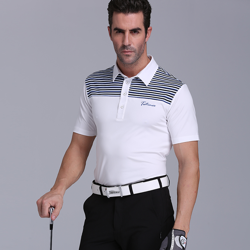 ФОТО Teetimes golf shirt men's clothing breathable sports short-sleeve T-shirt quick-drying spring and summer  golf top