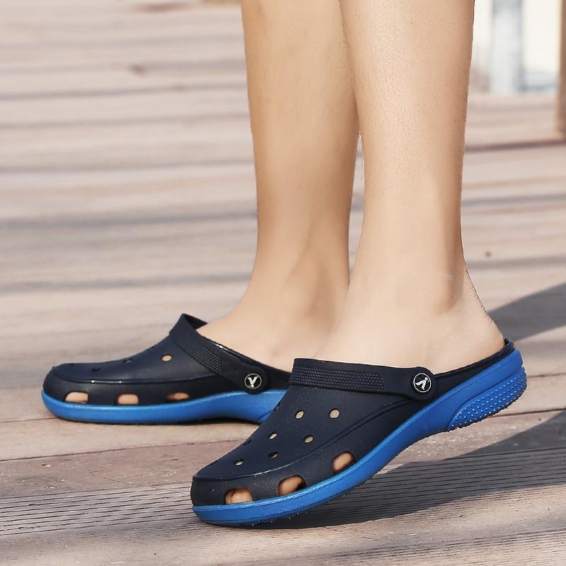 LAOCHRA Qadın çimərlik sandaleti, çuxurlu moda mənzilləri ilə - Qadın ayaqqabıları - Fotoqrafiya 5