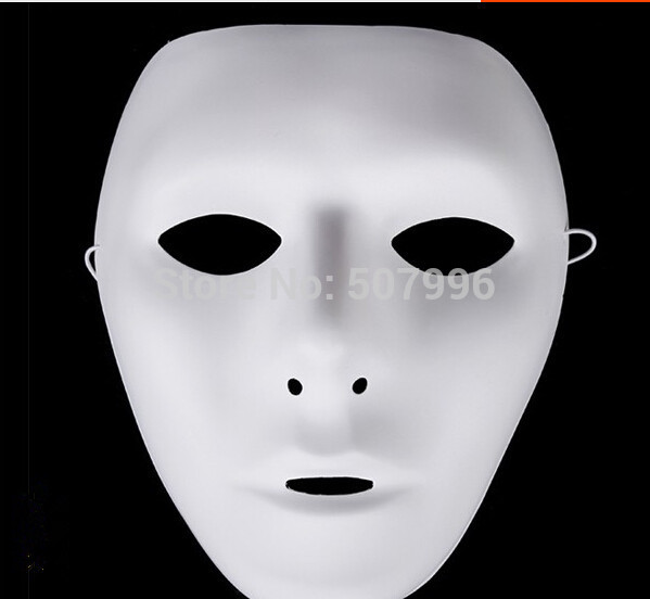 5 pieces jabbawockeez mask white hip hop mask womens mask street step dance halloween costume - Partyland Halloween Costumes