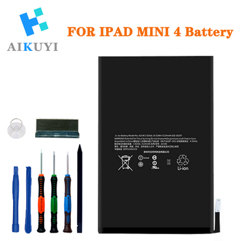 Replacement Battery for iPad Mini 4(A1538,A1550) Battery with Complete Repair Tools Kit 5124mAh 3pcs iot ibeacon biuetooth 4 0 wateproof iow energy kit beacon biuetooth moduie receiver proximity device with battery