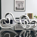 Нордическая керамическая мебель в форме сердца  креативные фигурки и миниатюрные поделки  современное домашнее украшение  свадебные подар...