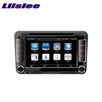 Для Volkswagen VW Bora 2013 ~ 2017 liislee Автомобильный мультимедийный ТВ DVD GPS аудио hi fi Радио стерео оригинальный Стиль навигации nav