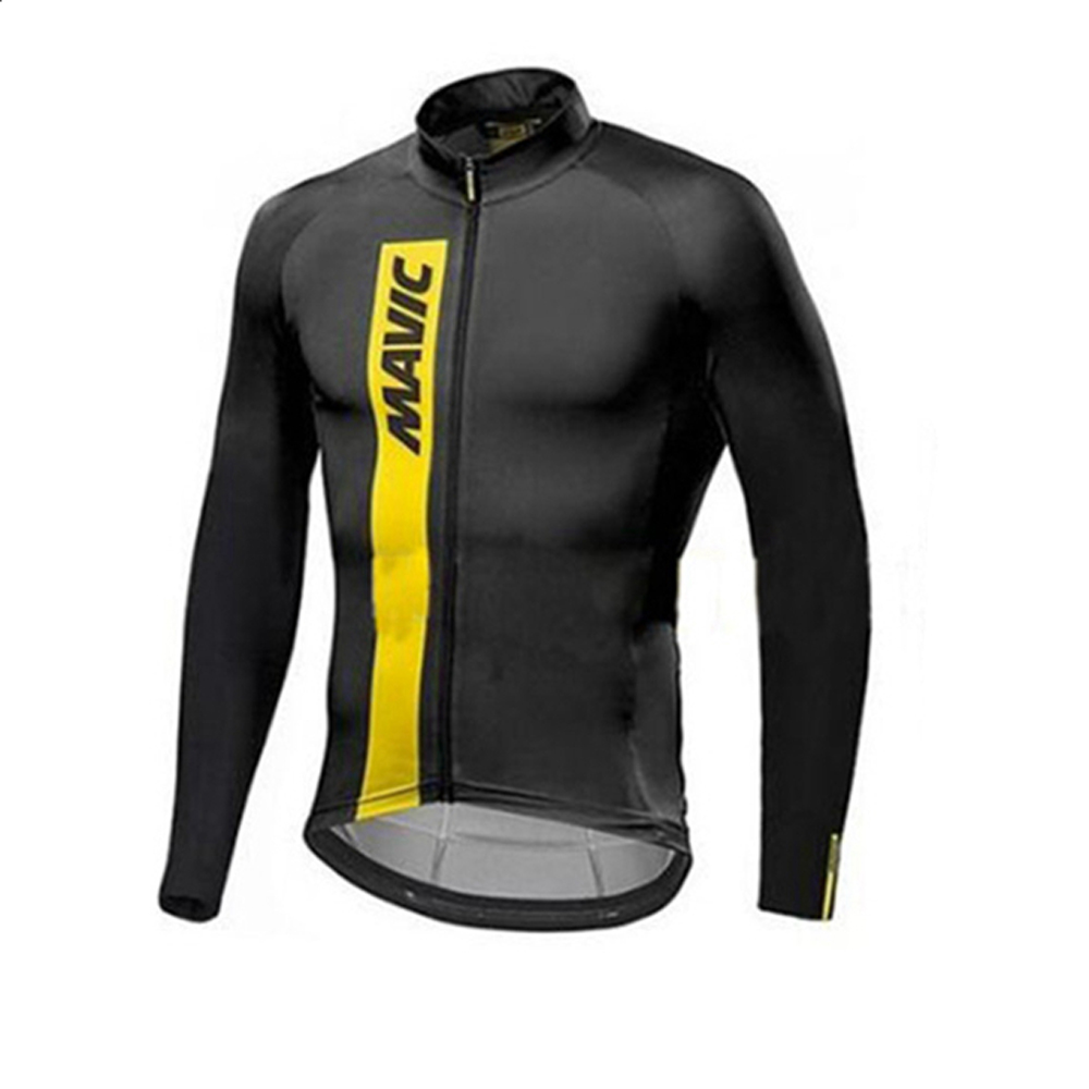 2018 Pro Team Men Wear Mavic Cycling Jersey Clothes Bike Outdoor Mountain  Road Bicycle Triathlon Long Sleeve Uniform Clothing 11dde5fc6