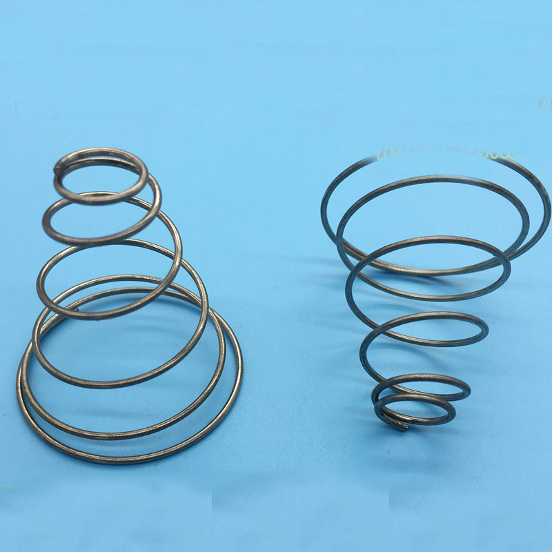 Tapered wire diameter wire center pagoda shaped cone springs wire diameter 1 0 taper spring 20pcs a725 rh sites google com greentooth Choice Image