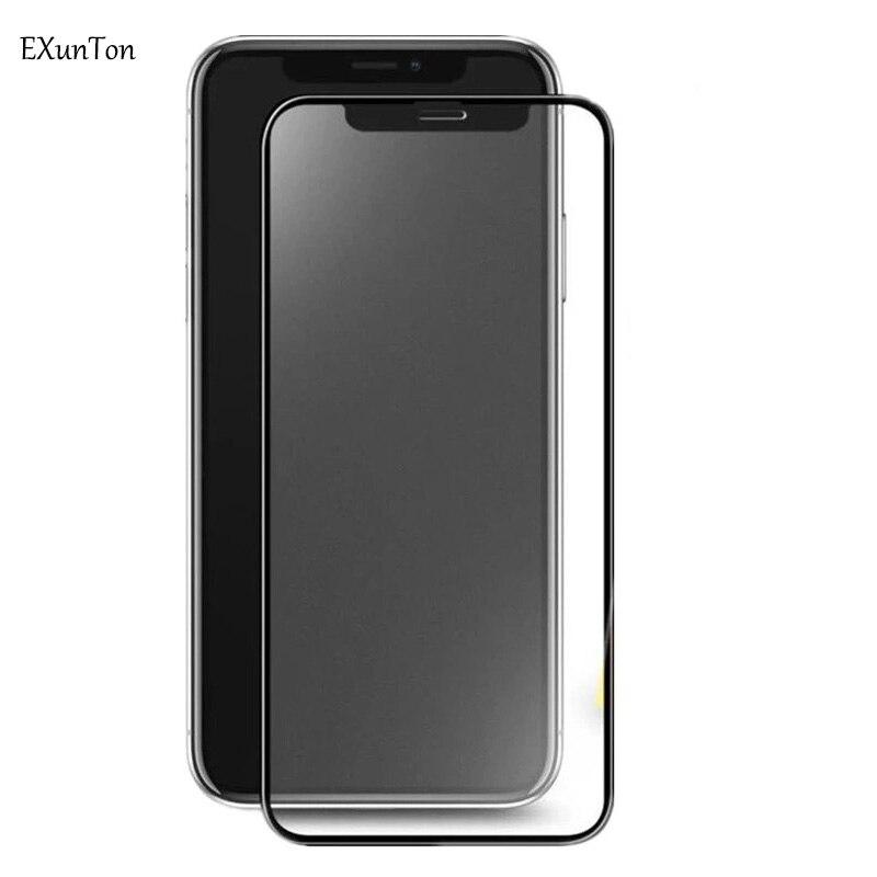 2.5D Clear Silk Printing Matte Anti Fingerprint Tempered Glass Screen Protector For Apple iPhone 6 6s 7 8 Plus 7Plus X XR XS Max visa