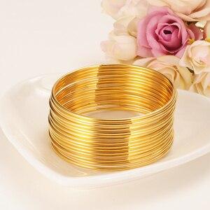 24k Gold Women Gold big Dubai Bride Wedding Ethiopian Bracelet Africa Bangle Arab Jewelry Gold Charmgirls India Bracelet gifts