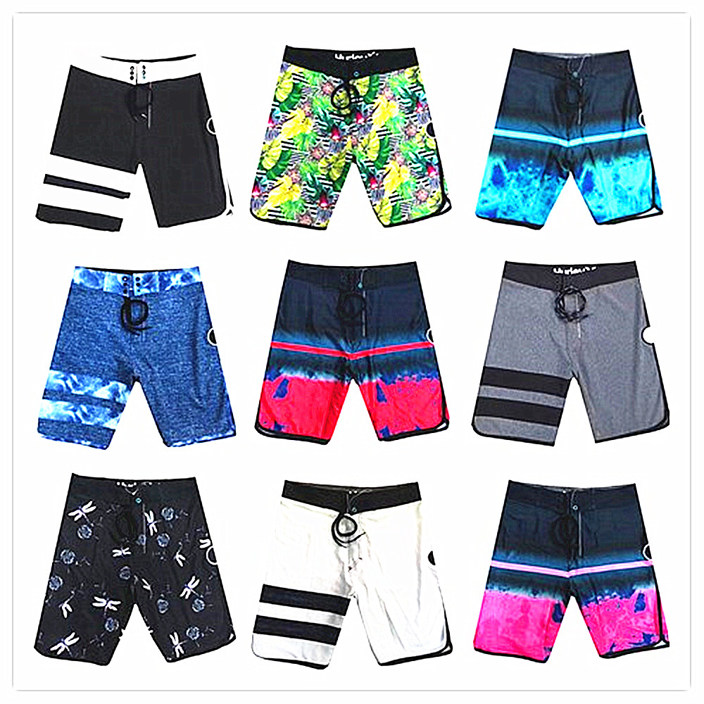 Summer 2019 Brand Fashion Phantom   Board     Shorts   Men 100% Quick Dry Elastic Man Boardshorts Sexy Spandex Beach   Short   Male Swimwear