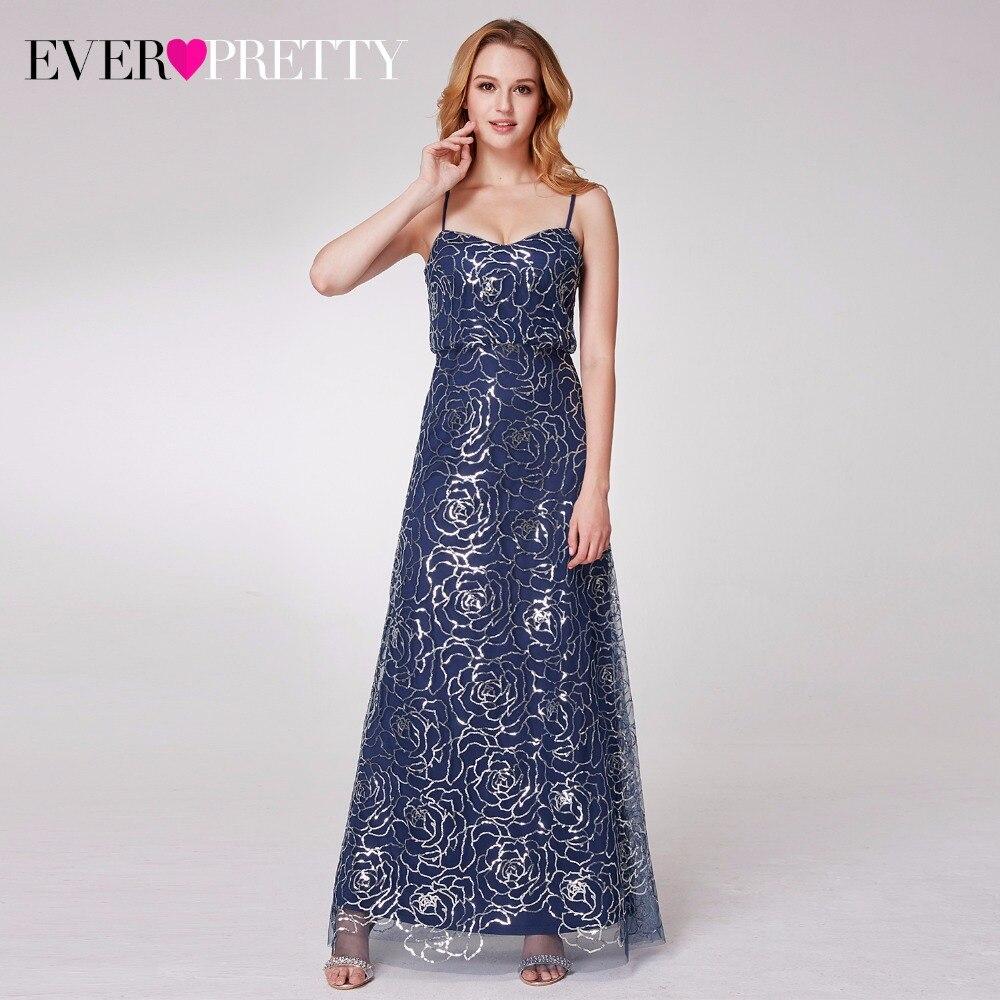 2018 recién llegado de lentejuelas largas vestidos de dama de honor - Vestidos de fiesta de boda