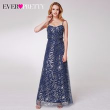 2018 New Arrival Sequin Long Bridesmaid Dresses Women's Cold Shoulder Sequin Spaghetti Straps Ruffles Party Dresses 07288(China)
