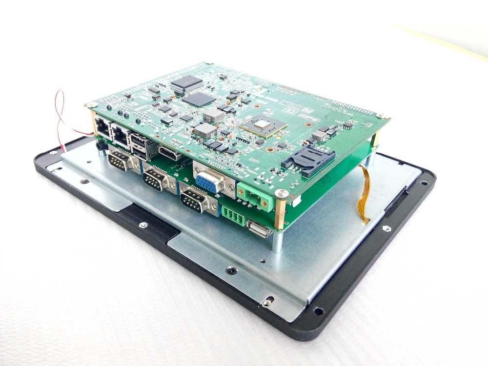 7 Inch  D2800 1.86GHZ  Industrial Panel Pc