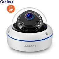Gadinan IP Camera PoE 5MP 2592*1944P 3MP 2MP IP66 Waterproof Onvif Night Vision Audio Dome Vandalproof Security Camera Outdoor