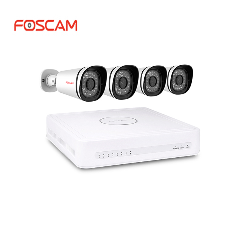 Foscam Nvr Kit Fn3108e B4 1t 720p Nvr Professional