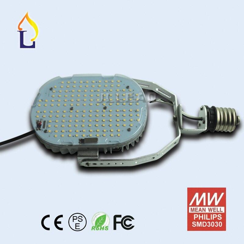 Paquete de 6 E40 E39 100W 120W 150W controlador externo normal kits de retroajuste Led luces de dosel reemplazar 400W smd3030 lámparas de estacionamiento - 5