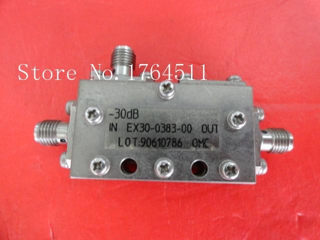 [BELLA] OMC EX30-0383-00 1.5-3GHz Coup:30dB SMA Coaxial Directional Coupler