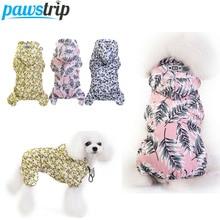 Pawstrip S-XXL дождевик для собак водонепроницаемый плащ для собак Чихуахуа Пудель одежда для щенков одежда для маленьких собак/дождевик одежда
