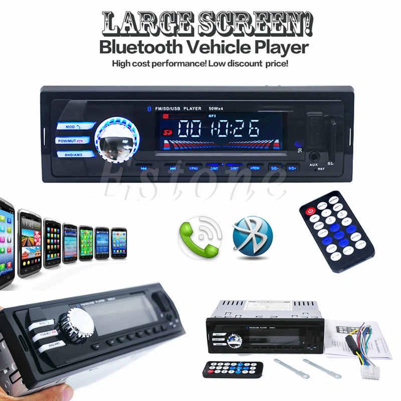Car SD USB MP3 Radio Player 2023 Audio Stereo In Dash FM Aux Input Receiver