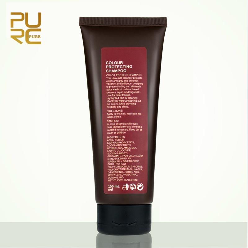PURC Colour Protecting Shampoo Nourishing Moisture And Protecting Hair Color Shampoo Professional Hair Care Products 100ml
