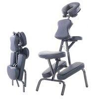 Современные Портативный кожаный коврик массажное кресло тату спа с бесплатным для переноски салон мебели регулируемый татуировки массаж к