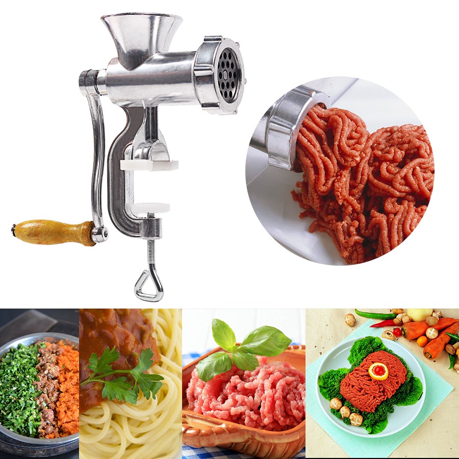 Meat Grinder Moedor De carne Cooking Machine Multifunctional For Domestic Use Aluminum Alloy Noodles Grinding Machine For Home la carne