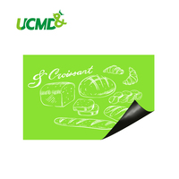 Flexible Ferrous Green Board Drawing Message Board Hold Magnets Home Wall Room Decor Green Color 120 CM x 100 CM X 0.6 MM
