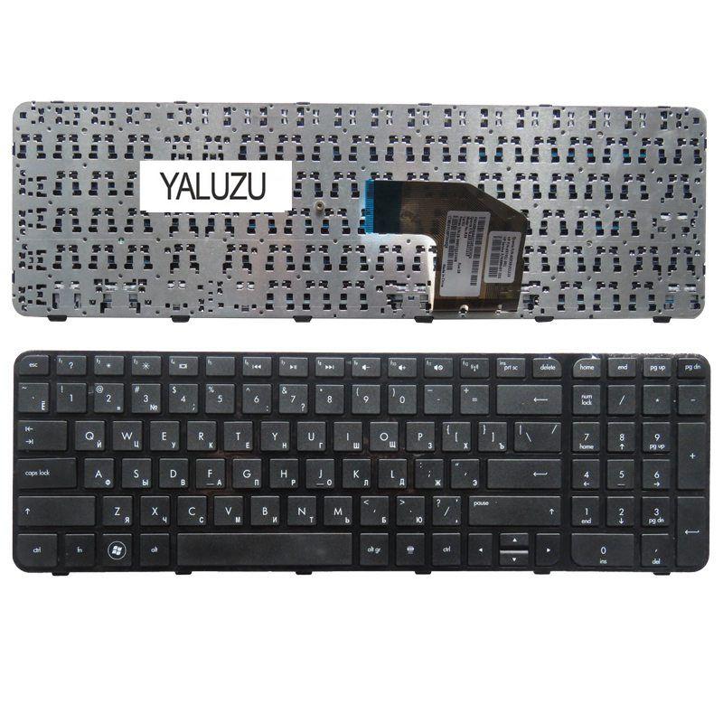 YALUZU Laptop Keyboard for HP FOR Pavilion G6 G6-2000 G6Z-2000 g6-2100 G6-2163sr AER36Q02310 R36 RU russian keyboard for hp pavilion g6 g6 2000 g6z 2000 g6 2000 g6 2100 g6 2163sr g6z 2000 aer36q02310 r36 ru black with frame