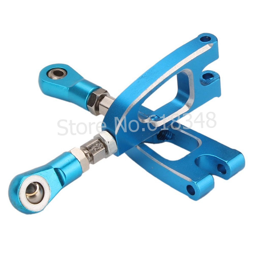2pcs/lot HSP Upgrade parts 188020 Alum.Rear Upper Arm HSP 08070 Spare Parts For 1/10 R/C Model Car Off Road Monster Truck