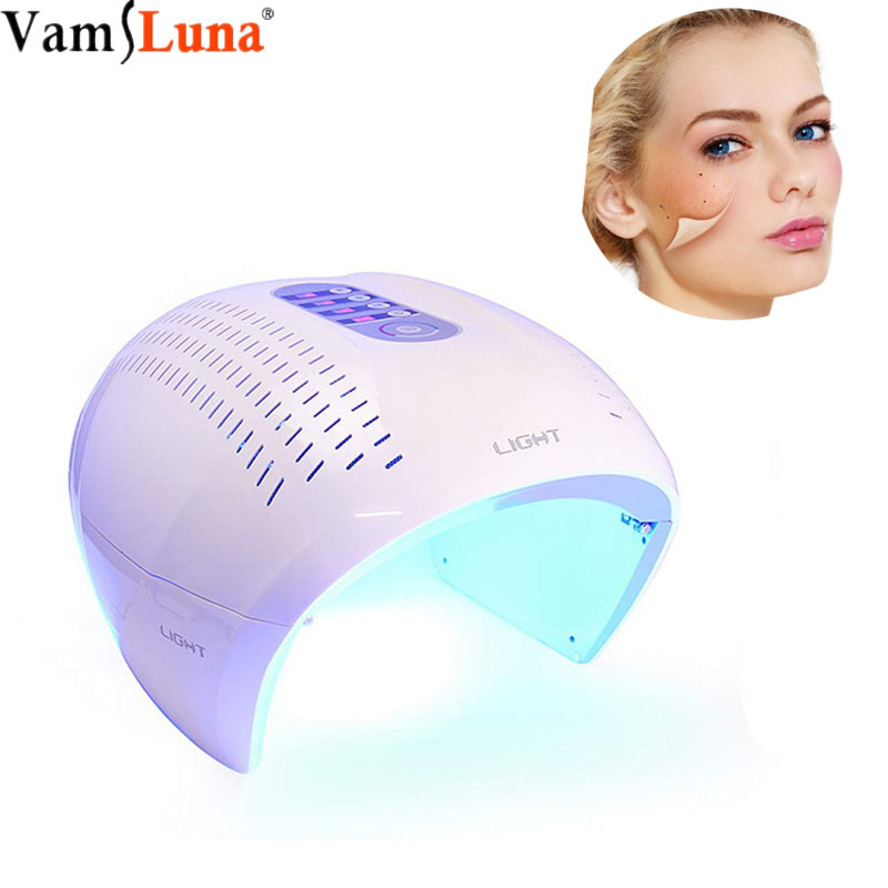 TECH 4 Color LED Color Photon Spectrometer Space Capsule PDT Treatment Rejuvenation Device Therapy Facial Salon
