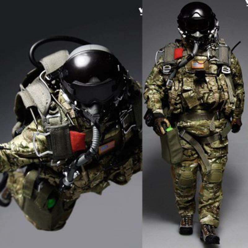 1/6 Scala US Forze Speciali Paracadutisti Corpi Vestiti e gli Accessori per 12Soldiers1/6 Scala US Forze Speciali Paracadutisti Corpi Vestiti e gli Accessori per 12Soldiers
