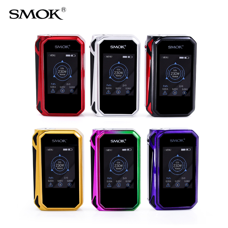 SMOK origine G-Priv 2 Mod G Priv 230 w Boîte Mod Cigarette Électronique G Priv SMOK Mod fit pour TFV12 Prince