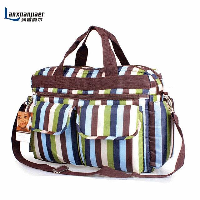Baby diaper nappy bag mother mummy mum Multi functional large capacity waterproof Maternity Shoulder tote bag 4 color free ship