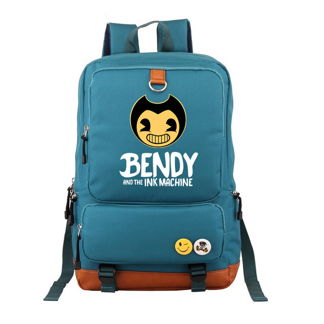 4bbecf523ddc Bendy And The Ink Machine Backpack For Children School Bags Cartoon Game  Printing Book Backpack Daily School Backpack