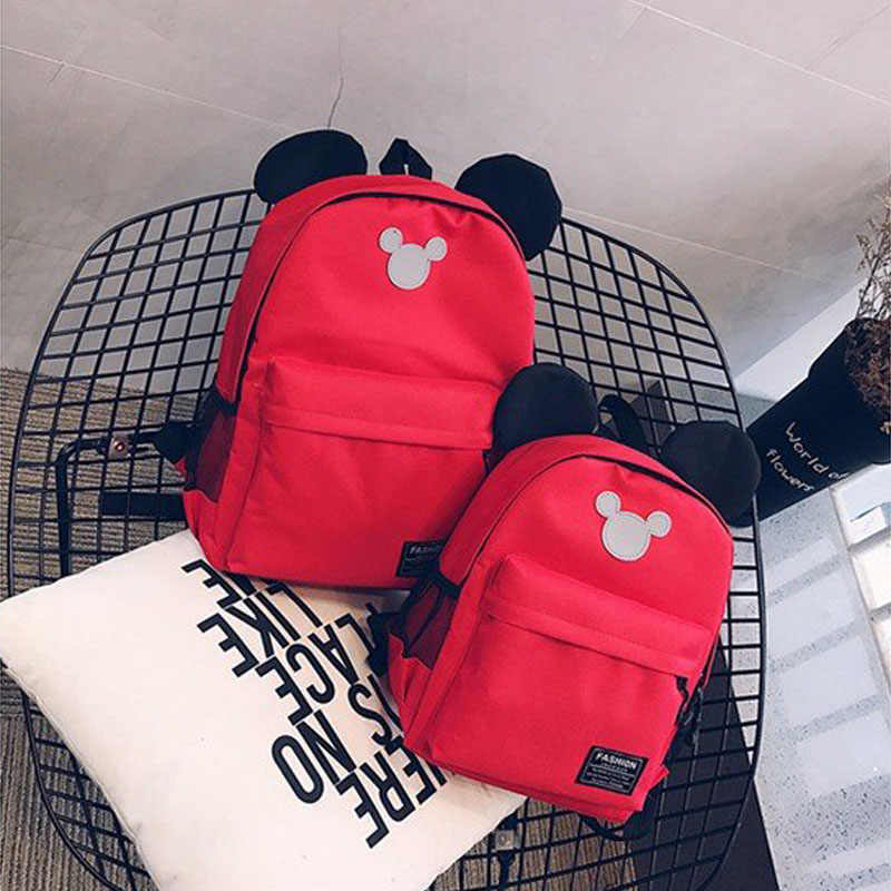 de264c751f8e ... 2019 Disney Mickey Backpack Cute Mickey Mouse Women Bag Girl Handbag  Fashion School Backpacks Boy Travel ...