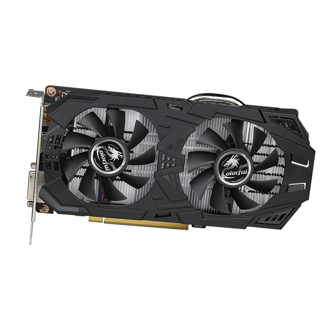 COLORFUL GeForce GTX1060 3GD5 Gaming V5 Graphics Card 1518-1713MHz PCI-E DVI+HDMI+DP Video Card With 2 Fans Samsung Memory ETH