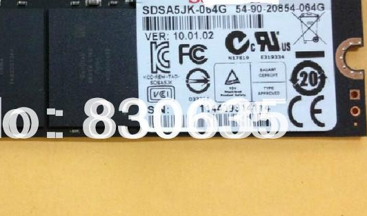 64GB FOR UX21E UX31E UX21 / UX31 UX31A UX21A U100 connect wtih SSD Solid State Drive DISK FULL TESTED, XM11 NO CABLE цена