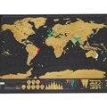 1 PCS Raspe MAP Raspadinha Viagem Mapa 88x52 cm/82.5x59.4 cm Mundo Mapa Novidade presente