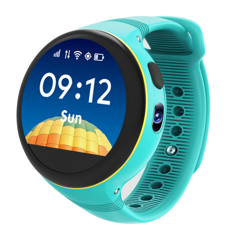S668 Children IPS Round Screen Smart Watches GPS/LBS/AGPS Multi Positioning SOS Call IP54 Waterproof Smart Watch hold mi q90 gps phone positioning fashion children watch 1 22 inch color touch screen wifi sos smart watch baby q80 q50 q60