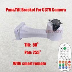Il trasporto Libero a distanza intelligente Motorizzata Pan Tilt Rotazione CCTV Macchina Fotografica Del Supporto della Staffa di Montaggio A Parete