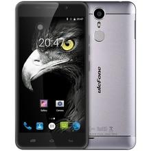Ulefone Metal Android 6.0 5.0 Inch 4G Smartphone MTK6753 Octa Core Mobile Phone 1.3GHz 3GB+16GB Fingerprint Scanner GPS OTG BT 4