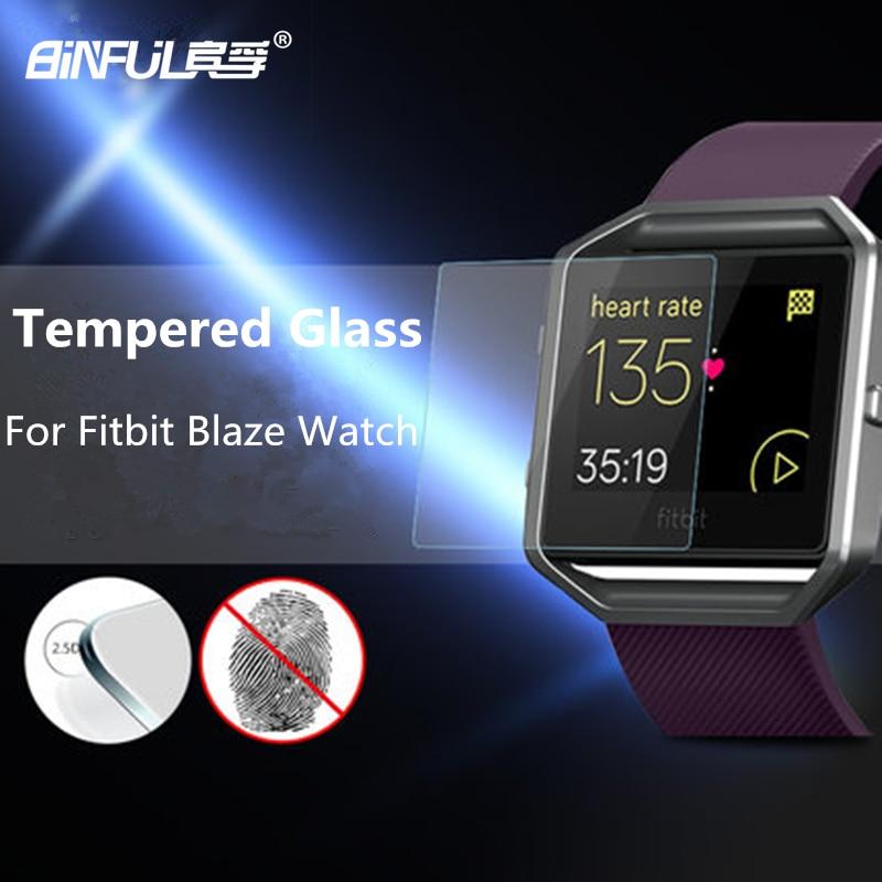 Prémium HD 9H 2,5D, 0,3 mm-es edzett üveg Fitbit Blaze - Mobiltelefon alkatrész és tartozékok