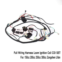 New Motorcycle CDI Wiring Harness Loom Ignition Solenoid Coil Rectifier for 150cc 200cc 250cc 300cc Zongshen Lifan ATV Quad Dirt