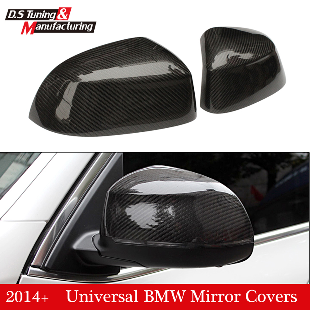 X3 F25 X4 F26 X5 F15 X6 F16 replacement part carbon fiber side door mirror cover for bmw x3 x4 x5 x6 2014+ for bmw x3 x4 x5 x6 2014 2015 true carbon fibre car side mirror rearview cover trims 2pcs