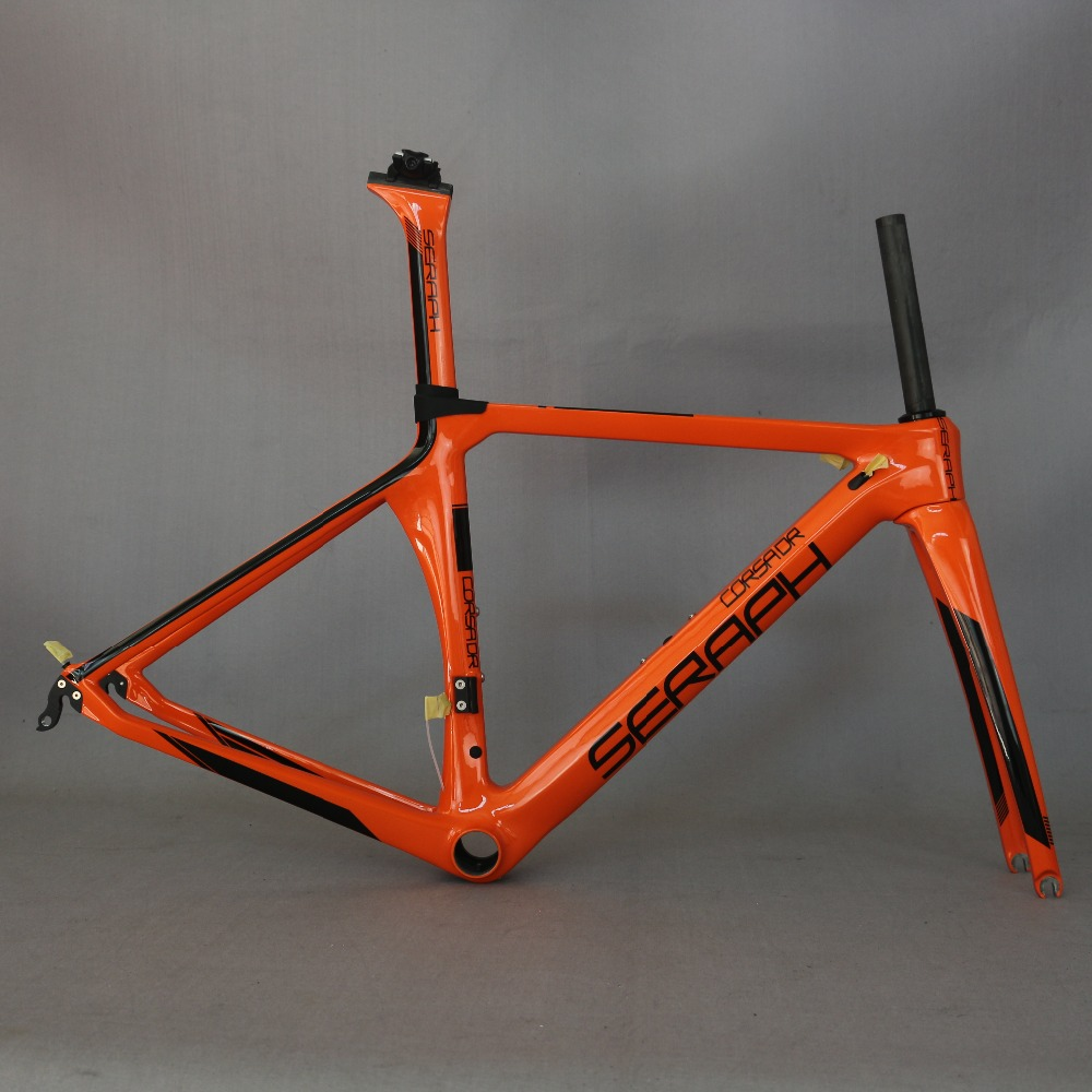 SERAPH painting carbon bicycle frame Custom painting OEM products  road carbon frame TT-X1 frame ,Aero road carbon bicycle frame