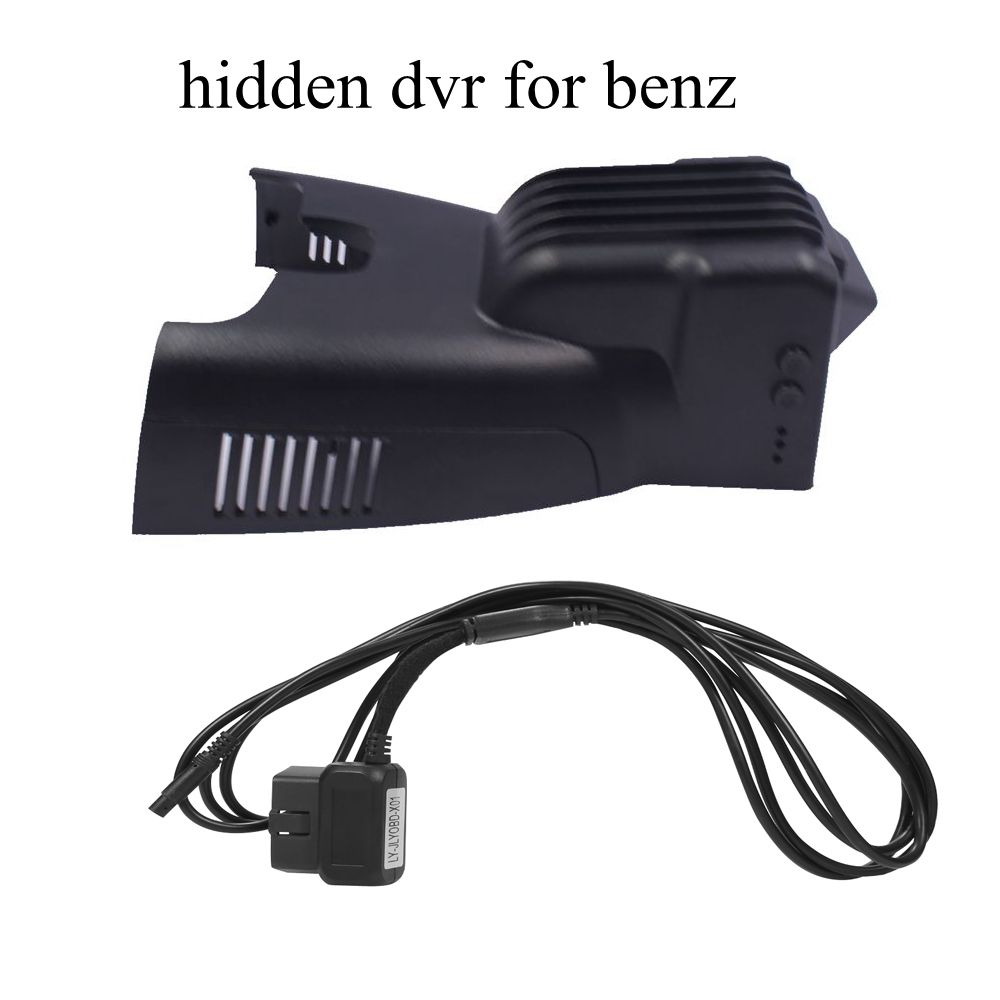 PLUSOBD Vehicle Camera Dash Cam Hidden Wifi Function For Mercedes Benz B W246 2013-16 With Aluminium Alloy Night Vision 1080P plusobd wifi car dvr recorder for mercedes benz glk x204 2009 15 dash cam black box sony 322 with aluminium alloy and obd2