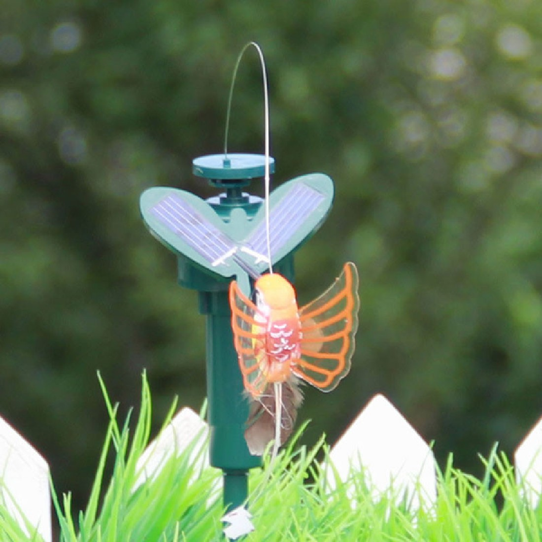 New Vibration Solar Power Dancing Flying Fluttering Butterflies ...