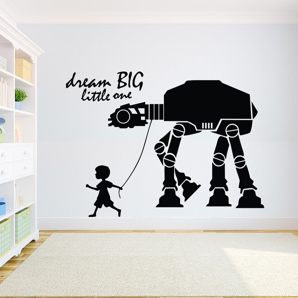 Wall Mural wallpapers CHILDREN/'S ROOM photo giant poster style Star Wars decor