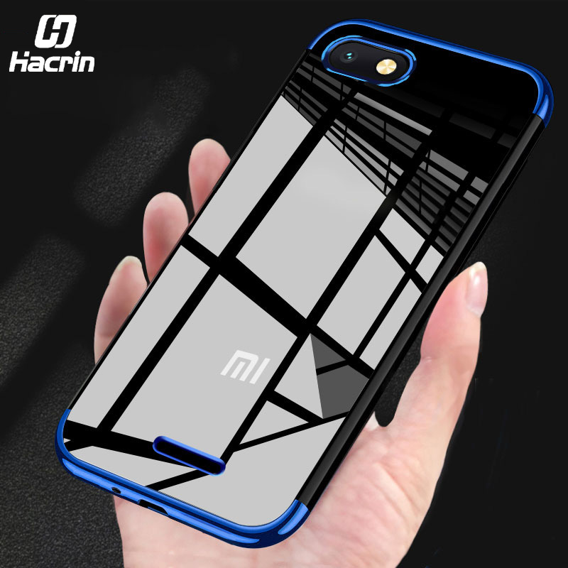 Case for <font><b>Xiaomi</b></font> <font><b>Redmi</b></font> <font><b>6A</b></font> Cover Soft Silicone Protective Bumper Case Clear Transparent Case for <font><b>Redmi</b></font> <font><b>6A</b></font> Cover Shockproof 5.84'' image